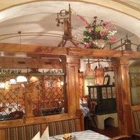 Das Foto wurde bei Restaurant Waldviertlerhof von Nikolay A. am 4/19/2013 aufgenommen