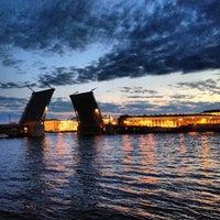 Photo taken at Palace Bridge by Nikolay A. on 7/6/2013