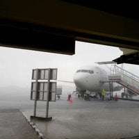 Photo taken at Depati Amir Airport (PGK) by Tanto D. on 1/29/2013