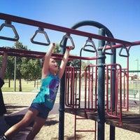 Photo taken at Enid Park by Bennie L. on 10/19/2013