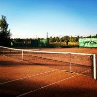 Photo taken at Varma tennisklubi by Matias A. on 7/16/2014