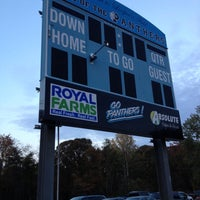 Photo taken at Loopers Field. Panthers Football by Dawn D. on 10/23/2012
