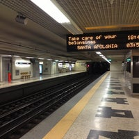 Photo taken at Metro Carnide [AZ] by Rui V. on 1/13/2013