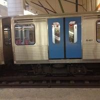 Photo taken at Metro Pontinha [AZ] by Rui V. on 1/10/2013