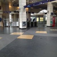 Photo taken at Metro Pontinha [AZ] by Rui V. on 12/31/2012