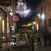 Photo taken at Bistro Sous-Le-Fort by Colin H. on 8/13/2017