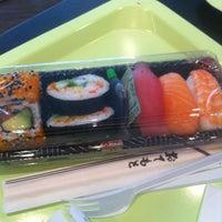 Photo taken at Wasabi Sushi Bento Bar by Patrick K. on 6/28/2013