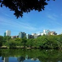 Photo taken at Parque Moinhos de Vento (Parcão) by Angela C. on 2/11/2013