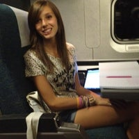 Photo taken at Amtrak Acela 2173 by Michelle R. on 9/14/2012
