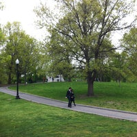 Photo taken at Boston Common by Yechiel E. on 5/11/2013