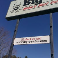 Photo taken at Big G's Deli by Kimberly G. on 4/6/2013