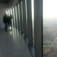 Photo taken at Punkt Widokowy Sky Tower by Marta G. on 11/13/2014