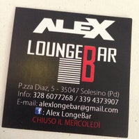 Photo taken at Alex Lounge Bar by Nicolò S. on 7/8/2013