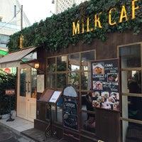 Photo taken at MiLK cafe by かめ っ. on 2/8/2016