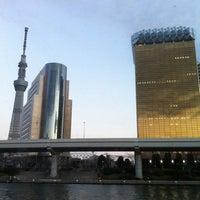 Photo taken at 浅草水上バス乗り場 TOKYO CRUISE by ICHIRO F. on 1/8/2012