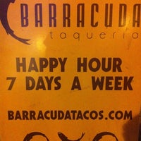 Photo taken at Barracuda Taqueria by Ricardo C. on 8/22/2011