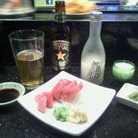 Photo taken at Sushi Eye in Motion by Kyle B. on 1/20/2012
