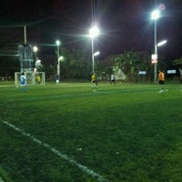 Photo taken at CMI Football Club by Auten C. on 9/4/2012