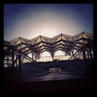 Photo taken at Gare do Oriente Train Station by Ani G. on 8/30/2012