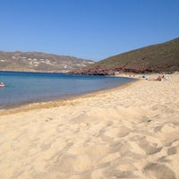 Photo taken at Panormos Beach by Κρις Κ. on 6/5/2012
