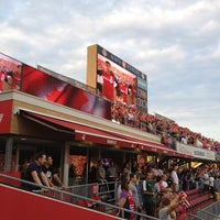 Photo taken at BMO Field by Linda . on 8/15/2012