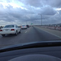 Photo taken at HRBT by Mike F. on 8/11/2012