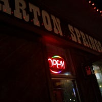 Photo taken at Barton Springs Saloon by Nick M. on 2/2/2013