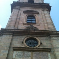 Photo taken at Hugenottenkirche by Miguel F. on 7/6/2013