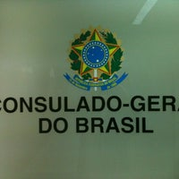 Photo taken at Consulado do Brasil no Porto by Miguel F. on 11/27/2012