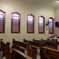 Photo taken at Igreja Adventista do 7º Dia - Jardim dos Oliveiras by Raphael D. on 2/3/2013