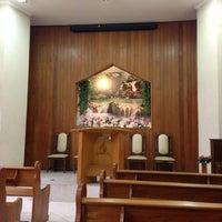 Photo taken at Igreja Adventista do 7º Dia - Jardim dos Oliveiras by Raphael D. on 2/9/2013