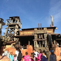 Photo taken at Big Thunder Mountain Railroad by André V. on 12/31/2012