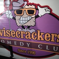 Photo taken at Wisecrackers Comedy Club by Ross B. on 5/17/2014