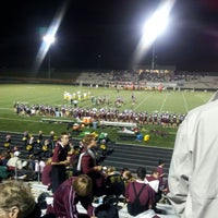 Photo taken at Papillion - La Vista South High School by Mike B. on 9/22/2012