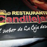 Photo taken at Restaurante Candilejas by Santiago A. on 7/7/2013