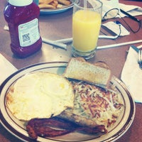 Photo taken at Denny's by Nathaniel G. on 2/7/2013