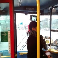 Photo taken at TfL Bus 140 by Arthur W. on 1/22/2014