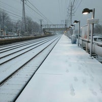 Photo taken at Metro North - Noroton Heights Train Station by Vladimir K. on 2/5/2016