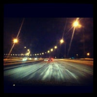 Photo taken at Мост Юганск by Лобар И. on 1/25/2013