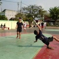 Photo taken at Lapangan Basket Pulomas by Christian A. on 9/20/2013