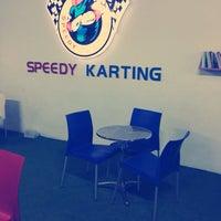 Photo taken at Speedy Karting by Kaan K. on 10/19/2013