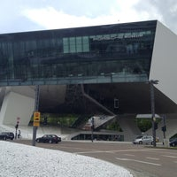 Photo taken at Porsche Museum by Eric K. on 5/10/2013