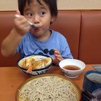 Photo taken at 天丼てんや 葛西駅前店 by Akinori M. on 8/17/2014