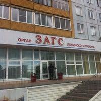Photo taken at ЗАГС Ленинского района by Vova M. on 6/29/2013