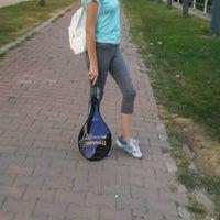 Photo taken at Tenis Kortları by gizem ö. on 8/5/2016