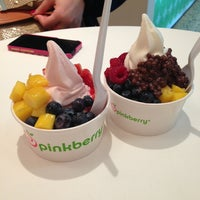 Photo taken at Pinkberry by Natalia T. on 2/1/2013