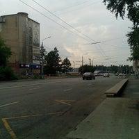 Photo taken at Остановка «ПКиО им. Гагарина» by Nik B. on 8/11/2013