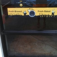 Photo taken at Einstein Bros Bagels by Naima L. on 4/17/2013