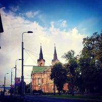 Photo taken at Kaarli kirik by Aleksander Daniel M. on 8/31/2013