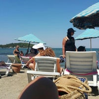Photo taken at Urla Beach Clup by Güneş Y. on 7/10/2016